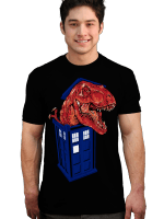 Dinosaur in the TARDIS T-Shirt