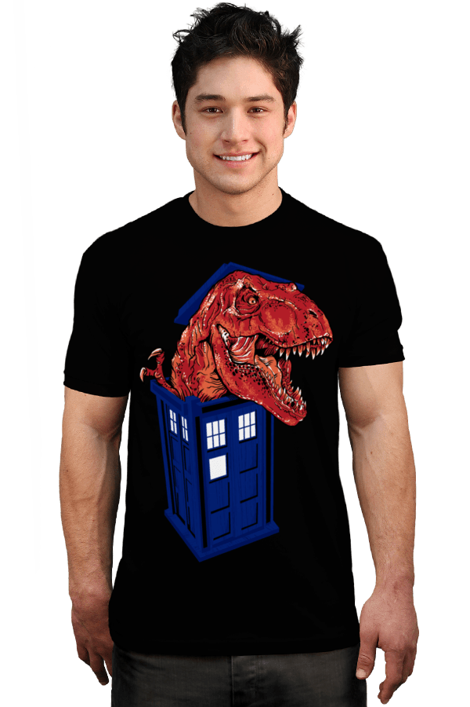 Dinosaur in the TARDIS