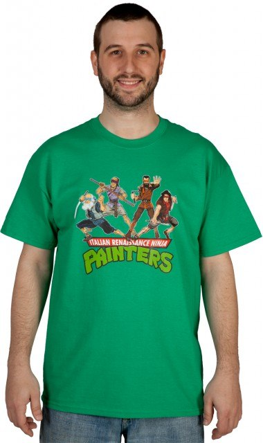 Italian Renaissance Ninja Painters Shirt