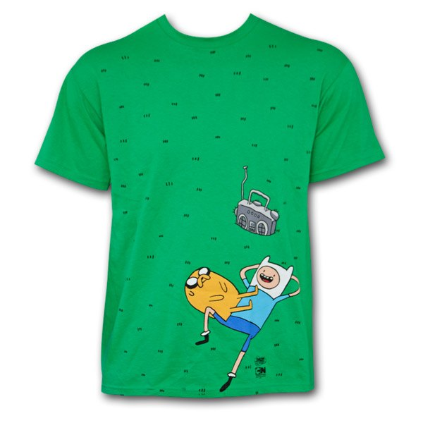 Adventure Time Grass Scene T-Shirt
