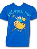 Adventure Time Onward Charge T-Shirt