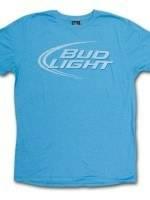 Bud Light Junk Food Faded Design T-Shirt