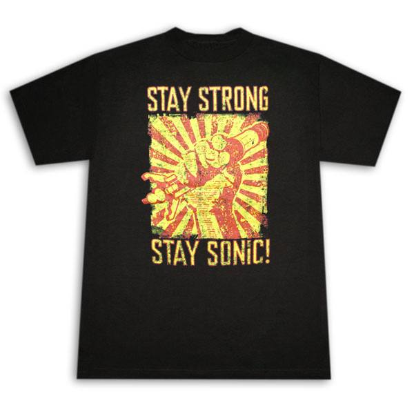 Dr. Who Stay Strong Stay Sonic! T-Shirt