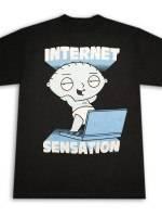 Family Guy Stewie Griffin Internet Sensation T-Shirt