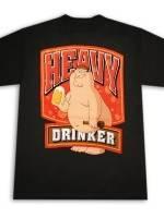 Family Guy Heavy Drinker T-Shirt