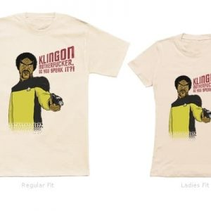 Klingon Do You Speak It T-Shirt