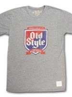 Old Style Shield Faded Retro Vintage T-Shirt