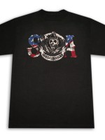 Sons Of Anarchy SOA American Flag Reaper T-Shirt