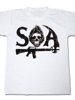 Sons Of Anarchy SAMCRO Text T-Shirt