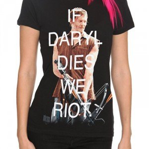 THE WALKING DEAD DARYL RIOT GIRLS T-SHIRT
