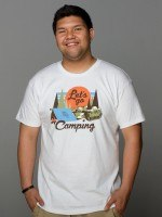 World of Tanks Lets Go Camping T-Shirt