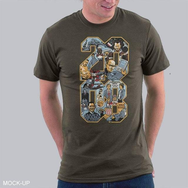 2008: A Shirt Odyssey