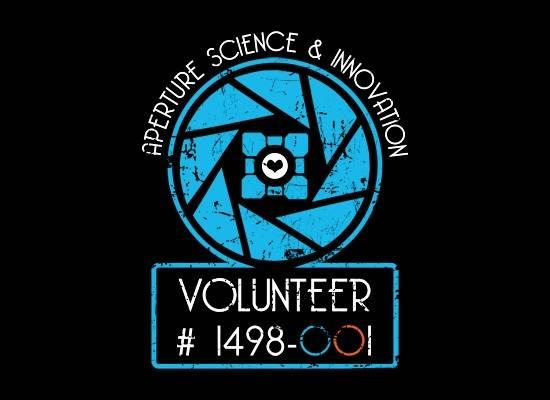 Aperture Science Volunteer