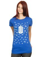 Doctor Who Tally Marks T-Shirt
