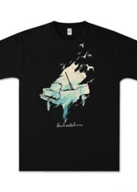 Paul McCartney Watercolor Piano T-Shirt Thumb