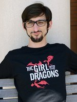 The Girl With The Dragons T-Shirt