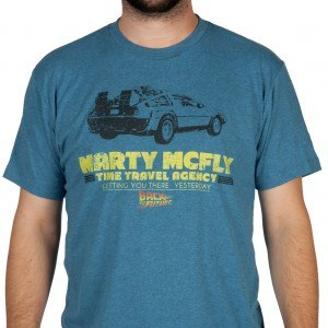 McFly Time Travel Agency Shirt