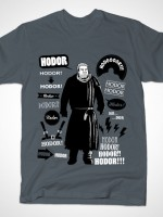 Hodor Famous Quotes T-Shirt