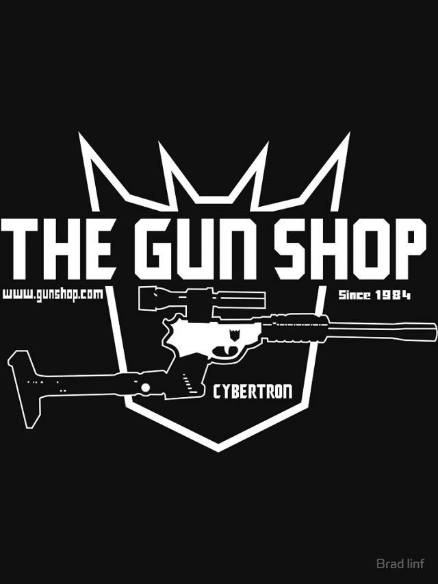 The Cybertron Gun Shop