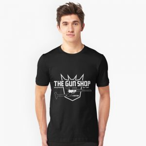 The Cybertron Gun Shop T-Shirt