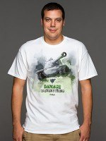World of Tanks Damage Is Everything T-Shirt