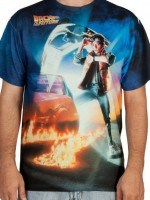 Back To The Future Sublimation T-Shirt