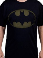 Faded Logo Batman T-Shirt
