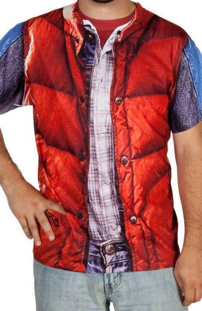 McFly Vest Costume Shirt