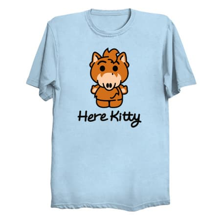 ALF Here Kitty T-Shirt
