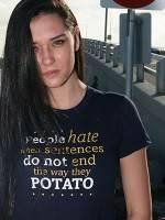 Sentences That End In Potato T-Shirt