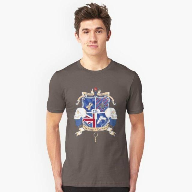 Sherlock's School of Deduction T-Shirt