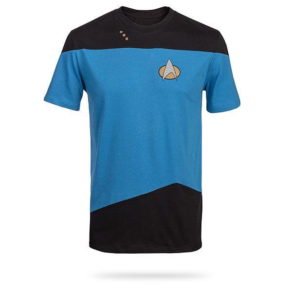 Star Trek TNG Uniform Blue T-Shirt