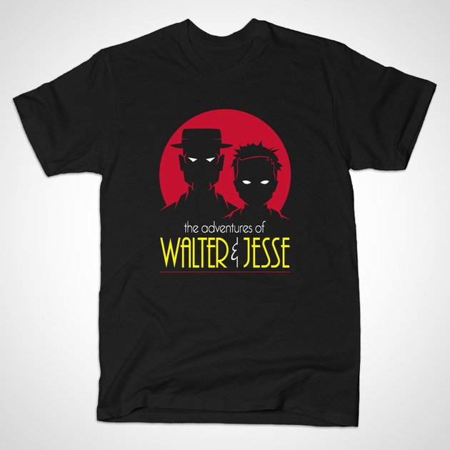 WALTER AND JESSE THE ANIMATED SERIES