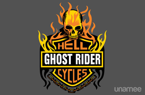 Ghost Rider Hellcycles T-Shirt