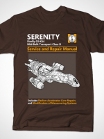 Serenity Service & Repair Manual T-Shirt