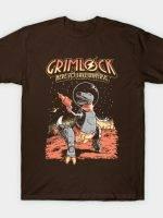 Space Pulp Dino Hero T-Shirt