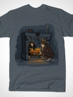 Witch in the Fireplace T-Shirt