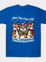 Caroling Foxes T-Shirt