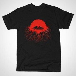 Winds over Neo-Tokyo T-Shirt