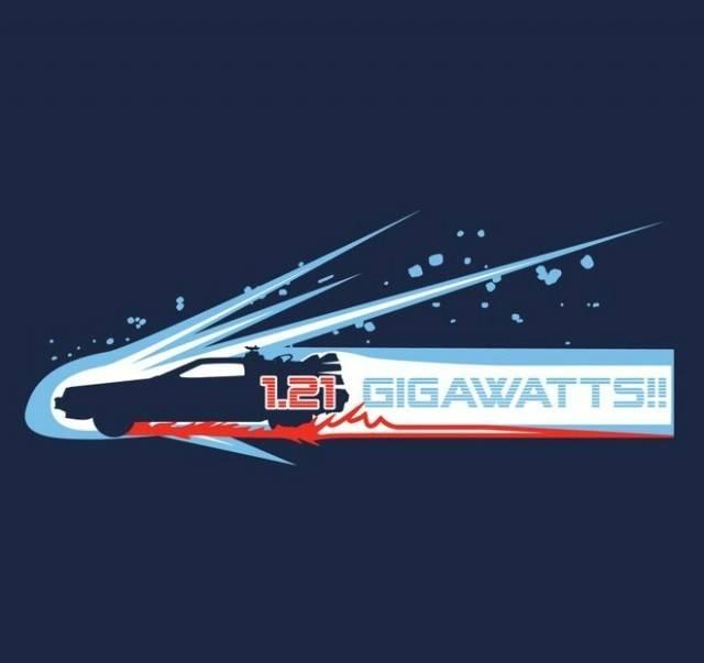 1.21 Gigawatts!