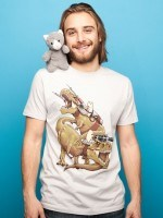 CATS RIDING T-REXS! T-Shirt