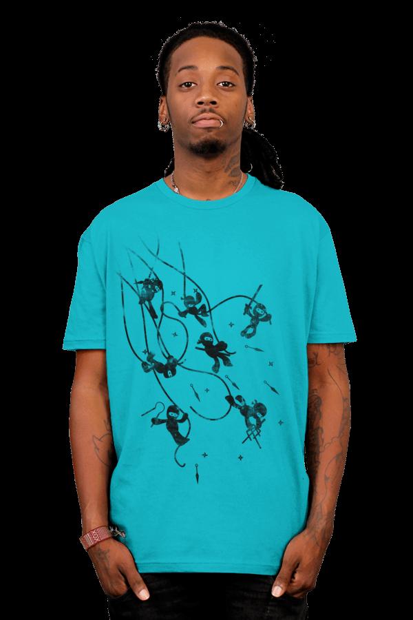 Cute Ninja Attack T-Shirt