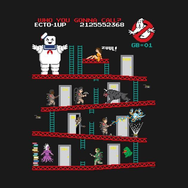 Ghostbusters/Donkey Kong Mashup