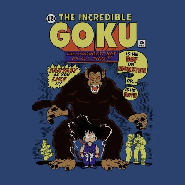 INCREDIBLE GOKU