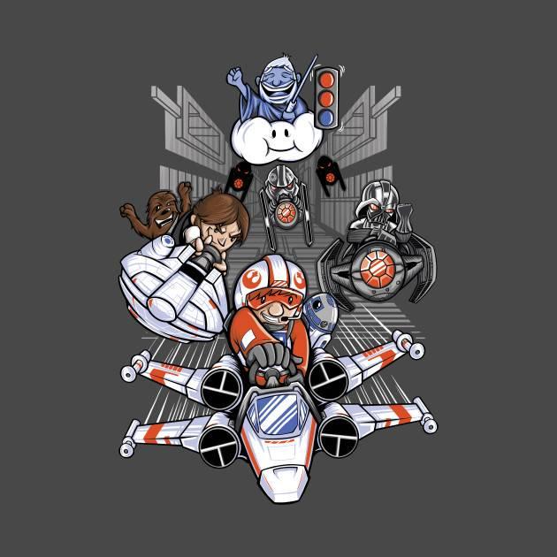Mario Kart/Star Wars Mashup