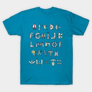 Starfighters A to Z T-Shirt
