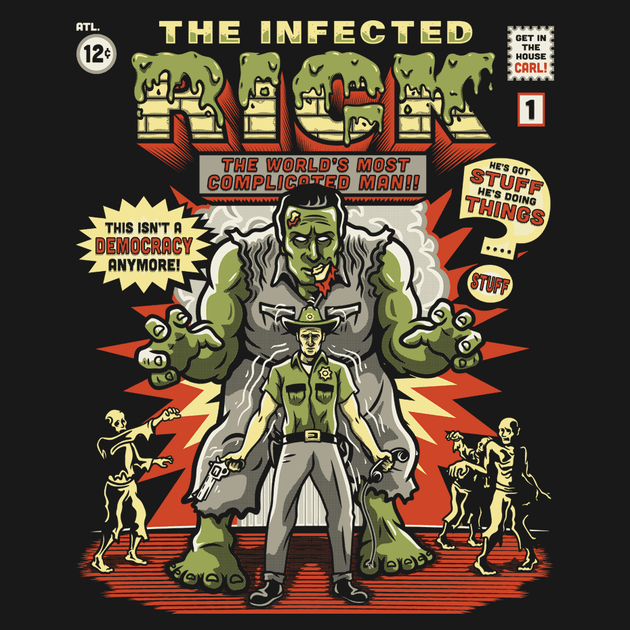 THE INFECTED RICK