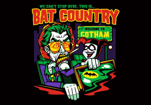 THIS IS BAT COUNTRY! – HARLEY EDITION