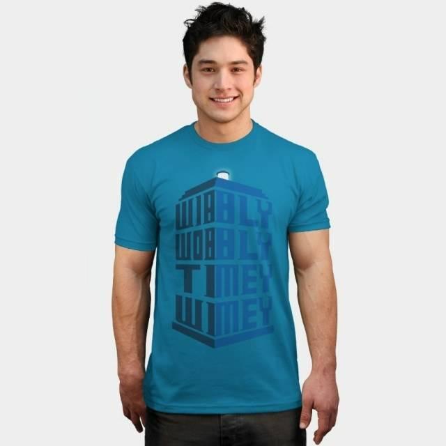 Wibbly wobbly T-Shirt