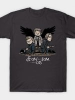 Dean and Sam... and Cas T-Shirt